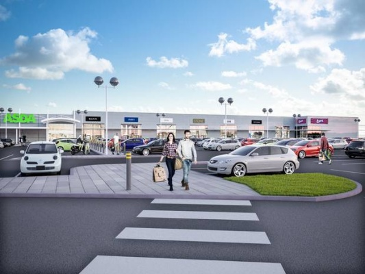 Work starts on revamp of Belfast Westwood shopping outlet